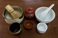 κενό τσάι φλυτζανιών Στοκ Εικόνα