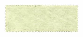 Κενό υπόβαθρο γραμματοσήμων κατασκευασμένο που απομονώνει στο λευκό Στοκ φωτογραφία με δικαίωμα ελεύθερης χρήσης