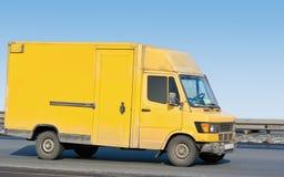 κενό φορτηγό truck παράδοσης κί&t Στοκ εικόνες με δικαίωμα ελεύθερης χρήσης
