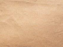 Κενό φύλλο ζαρωμένου χαρτονιού Στοκ Φωτογραφία