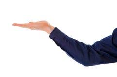 κενό χέρι στοκ φωτογραφία με δικαίωμα ελεύθερης χρήσης