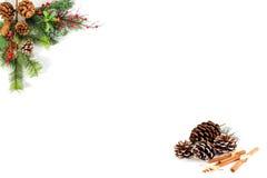 Κενό Χριστουγέννων για τις λέξεις σας Στοκ φωτογραφία με δικαίωμα ελεύθερης χρήσης