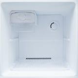 κενό ψυγείο ψυκτήρων Στοκ Εικόνες