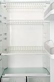 κενό ψυγείο Στοκ εικόνα με δικαίωμα ελεύθερης χρήσης