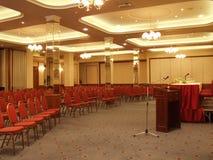 κενό δωμάτιο διασκέψεων Στοκ Φωτογραφία