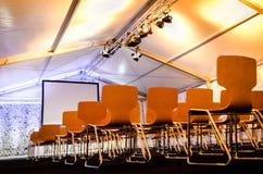 κενό δωμάτιο διασκέψεων Στοκ Φωτογραφίες