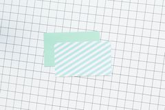 κενό όνομα καρτών Στοκ εικόνες με δικαίωμα ελεύθερης χρήσης
