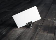 κενό όνομα καρτών Στοκ φωτογραφία με δικαίωμα ελεύθερης χρήσης