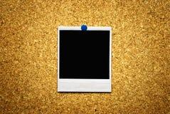 κενό polaroid ανασκόπησης Στοκ φωτογραφία με δικαίωμα ελεύθερης χρήσης
