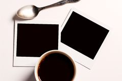 κενό polaroid Στοκ φωτογραφίες με δικαίωμα ελεύθερης χρήσης