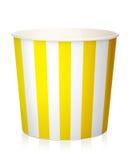 Κενό popcorn κιβώτιο Στοκ Εικόνες
