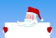 κενό santa εκμετάλλευσης Claus &kappa Στοκ Φωτογραφία