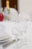 Κενό wine-glass Στοκ Φωτογραφίες