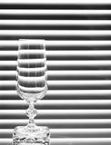 κενό wineglass Στοκ φωτογραφία με δικαίωμα ελεύθερης χρήσης
