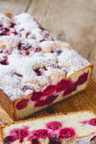 κεράσι κέικ σπιτικό Στοκ Φωτογραφίες