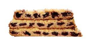 κεράσι κέικ Στοκ εικόνες με δικαίωμα ελεύθερης χρήσης