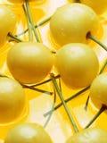 κεράσι κίτρινο Στοκ Εικόνες