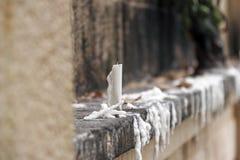 κερί απόμερο Στοκ φωτογραφία με δικαίωμα ελεύθερης χρήσης