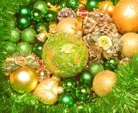 Κερί διακοσμήσεων Χριστουγέννων στοκ εικόνες