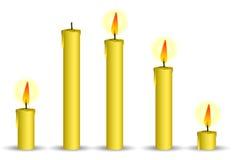 κερί κίτρινο Στοκ εικόνες με δικαίωμα ελεύθερης χρήσης
