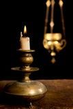 Κερί και θυμίαμα Στοκ Εικόνα