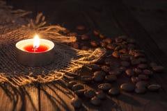 Κερί και σιτάρι Στοκ Φωτογραφία