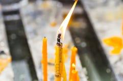 Κερί, κερί ή κωνικότητα στοκ εικόνα