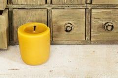 Κερί κεριών μελισσών Στοκ φωτογραφία με δικαίωμα ελεύθερης χρήσης