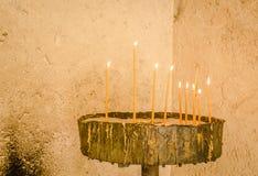 Κερί κεριών Στοκ εικόνα με δικαίωμα ελεύθερης χρήσης