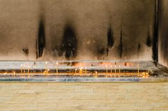 Κερί κεριών Στοκ Φωτογραφίες