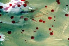 Κερί, κόκκινες σημεία και λάσπη, υπόβαθρο Στοκ φωτογραφία με δικαίωμα ελεύθερης χρήσης
