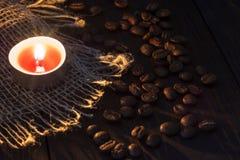 Κερί με τα σιτάρια Στοκ φωτογραφία με δικαίωμα ελεύθερης χρήσης
