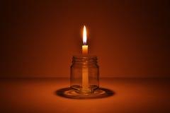 κερί μπουκαλιών Στοκ Φωτογραφία