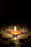 κερί μόνο στοκ εικόνες με δικαίωμα ελεύθερης χρήσης