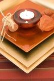 κερί ρομαντικό Στοκ εικόνες με δικαίωμα ελεύθερης χρήσης