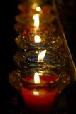 Κερί στην εκκλησία Στοκ εικόνα με δικαίωμα ελεύθερης χρήσης