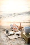 Κερί στη θάλασσα Στοκ Εικόνες