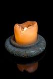 Κερί στο σκοτάδι Στοκ Εικόνα