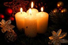 κερί τέσσερα λευκό στοκ φωτογραφία με δικαίωμα ελεύθερης χρήσης