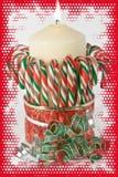 Κερί Χριστουγέννων Στοκ εικόνα με δικαίωμα ελεύθερης χρήσης