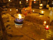 Κερί χρώματος για τη διακόσμηση Στοκ εικόνες με δικαίωμα ελεύθερης χρήσης