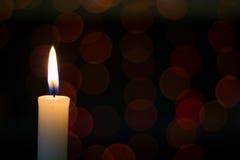 Κερί Bokeh Στοκ εικόνες με δικαίωμα ελεύθερης χρήσης