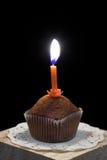 κερί cupcake Στοκ εικόνα με δικαίωμα ελεύθερης χρήσης