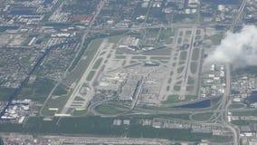 Κεραία αερολιμένων του Fort Lauderdale απόθεμα βίντεο