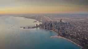 Κεραία ανατολής οριζόντων του Σικάγου Στοκ Εικόνα