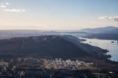 Κεραία βουνών Burnaby στοκ φωτογραφίες με δικαίωμα ελεύθερης χρήσης