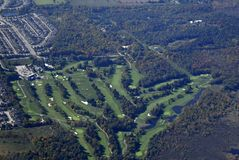 Κεραία γηπέδων του γκολφ Barrie Στοκ Εικόνες