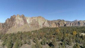 Κεραία κρατικών πάρκων βράχου Smith απόθεμα βίντεο