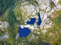 Κεραία λιμνών της Νορβηγίας Στοκ Εικόνες