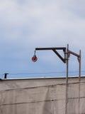 κεραία δραστηριότητας που χτίζει τη βιομηχανική όψη σκηνής νέα residental περιοχή σπιτιών γερανών κατασκευής Στοκ εικόνες με δικαίωμα ελεύθερης χρήσης